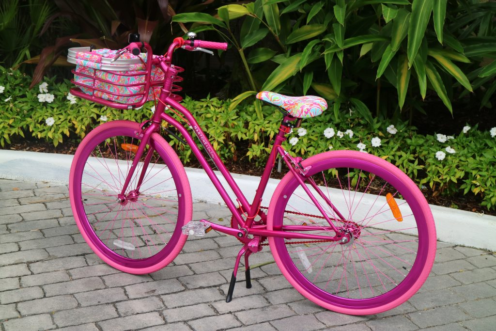 1cdd2fbfa5a Did you see that this adorable Lilly bike is going home with the biggest  spenders ! ! We are seriously kindof jealous…it s hands down the cutest  bike we ...